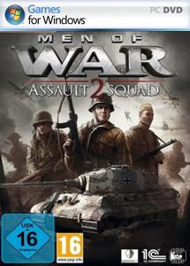 men of war: assault squad 2 (2 dvd) اورجینال