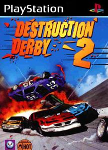 destruction derby 2_ps1 اورجینال