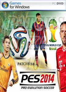 pro evolution soccer 2014 - world cup brazil (2 dvd) اورجینال